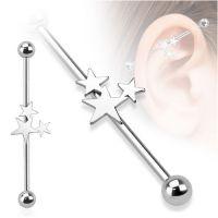 Industrial piercing sterren