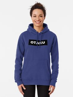 """""""Otaku"""" Pullover Hoodie by yoloforever 