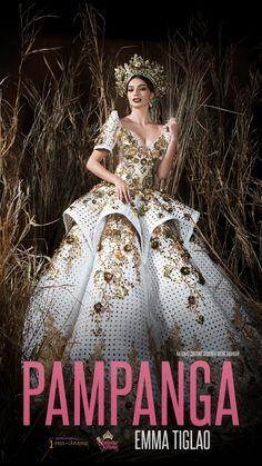 Gala Dresses, Formal Dresses, Dresses Art, Pageant Dresses, Philippines Dress, Philippines Fashion, Modern Filipiniana Gown, Filipiniana Wedding, Filipino Fashion