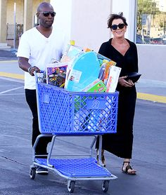 Still going strong! Kris Jenner is proving that her romance with Corey Gamble isn't just a fling — no matter what her daughters might say. Jenner hit the streets of L.A. with her man during a pre-Easter shopping trip.