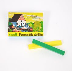 Porvoo Beeswax Crayons