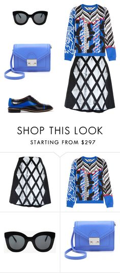 """Без названия #1678"" by xeniasaintp ❤ liked on Polyvore featuring Hellen Van Rees, Kenzo, CÉLINE, Loeffler Randall and Marc by Marc Jacobs"