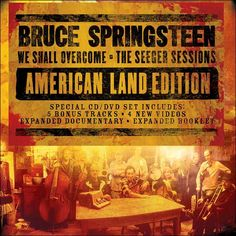 We Shall Overcome: The Seeger Sessions is an unusual Bruce Springsteen album in a number of ways. First, it's the first covers album Springsteen has recorded...    (I think this was the last thing I gave my Mom. I am so glad Mom put it in and watched a bit of it with me.)
