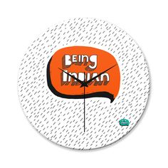 BigOwl Bro Minimalist Illustration Wall Clock Online India at