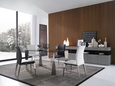 Modern Glass Dining Table - E127T