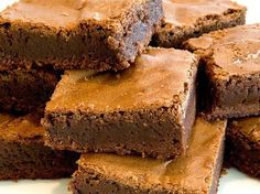 Supernatural Brownies (The Best Brownie Recipe) - Once Upon a Chef Cookie Desserts, Cookie Bars, Just Desserts, Dessert Recipes, Bar Cookies, Bar Recipes, Summer Desserts, Healthy Desserts, Sweet Recipes
