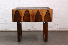 Danish rosewood planter - unknown Danish design. Twentiethcenturyantiques.co.uk