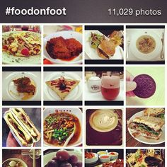 Thank you all for sharing all these wonderful photos using the #foodonfoot hashtag!!
