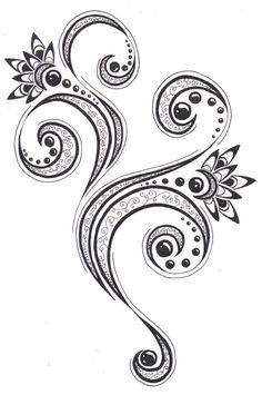 Floral pattern by crazyeyedbuffalo on DeviantArt