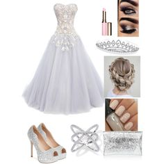 2 by bellab1213 on Polyvore featuring polyvore, fashion, style, Marchesa, Lauren Lorraine, Bling Jewelry and Clarins