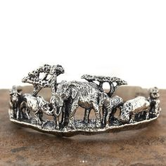 Over Wildlife Home Decor, Nature Decor, Wildlife Gifts and Nature Jewelry items curated from around the world. Kabana Jewelry, Wildlife Home Decor, Sterling Silver Cuff Bracelet, Nature Decor, African Safari, Elephant Gifts, Animal Kingdom, Handmade Jewelry, Blue Lagoon