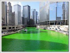 Voglio il mondo a colori Chicago, St Patrick Day