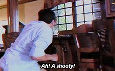 A shooty <<< lol Jim omg and Mark is such a nut, love the diff personas he makes up