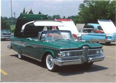 1959 Edsel Phantom Retractable Hardtop..Re-pin brought to you by agents of #carinsurance at #houseofinsurance in Eugene, Oregon