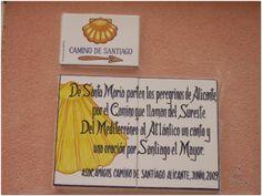 www.Turigrino.com De Sta Mª parten los peregrinos de Alicante, por el Camino del Sureste. Del Mediterráneo al Atlántico un canto y una oración por Santiago el Mayor.