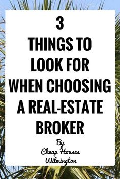 Choosing a real-estate broker is an important decision when you first start your real-estate career. Choosing a good real-estate company could literally mean the difference between real-estate career that get up and running quickly and one that stagnates. Here are three things to look out for when choosing a real estate broker: DON'T work …
