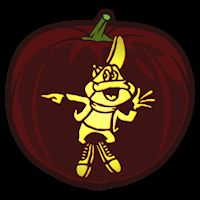 Sugar Smacks Frog - Pumpkin Stencil