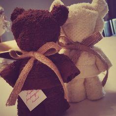Πετσέτα χεριών αρκουδάκι