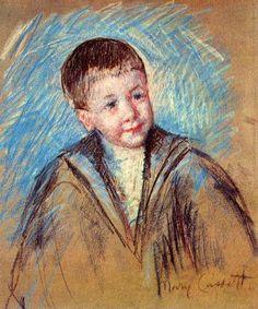 Master St. Pierre by Mary Cassatt.