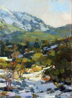 Jim McVicker Paintings: Southern California Paintings