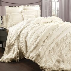 Lush Decor Belle 4 Piece Comforter Set | AllModern