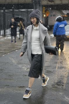 Street Style Stars at New York Fashion Week Fall 2015   POPSUGAR Fashion