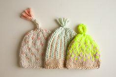 Trio of Colorwork Hats   Purl Soho