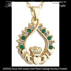 Claddagh Necklace Pendant. Jewelry Gifts, Gold Jewelry, Jewelry Box, Jewellery, Trendy Clothing Stores, Vip Fashion Australia, International Clothing, Irish Pride, Irish Jewelry