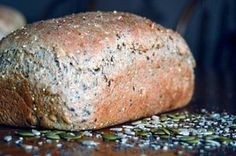 Healthy Homemade Multi-Grain Bread Recipe; looks delicious but so much grinding... i don't have a coffee grinder
