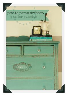 Kitchen Scale dresser by q is for quandie