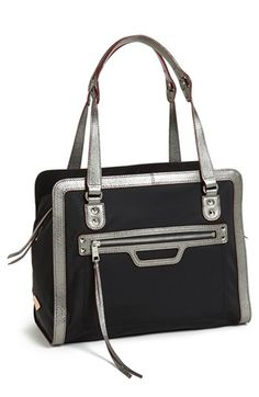 M Z Wallace 'Lane' Bedford Nylon Satchel available at #Nordstrom