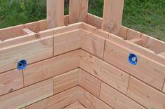 Brikawood : une brique en bois qui se monte par emboitement, sans clous ni vis ni colle | Construire Tendance
