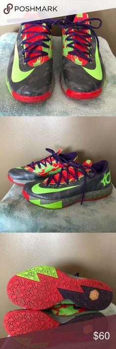 Nike Kd 6 Men's Sneakers Men's Nike Kd 6 sneakers.  Lightly work, good condition. Nike Shoes Sneakers