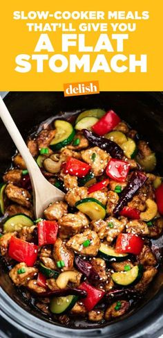 12 Best Slow-Cooker Flat Belly Foods-Skinny Slow-Cooker Crock Pot Recipes Easy Recipes One Pot Meals Meal Prep Slow Cooker Meals Stay at Home Mom Stay at Home Dad Working Mom Working Dad Simple Cooking crockpot crockpotrecipes Healthy Slow Cooker, Best Slow Cooker, Slow Cooker Keto Recipes, Slow Cooker Meal Prep, Easy Healthy Crockpot Recipes, Slow Cooker Dinners, Healthy One Pot Meals, Crock Pit Meals, Healthy Recipes For One
