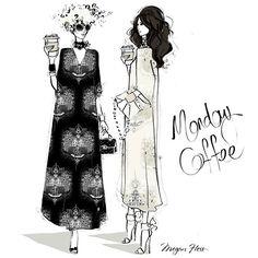 Monday Coffee by Megan Hess