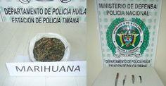 Policía de Timaná realizó incautación de drogas y armas blancas Weapons Guns, Cold Steel, September