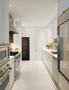 Jacobsen Architecture have designed O/K Coral, a contemporary white apartment in Washington, D.C.
