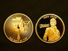 Michael Jackson Commemorative Gold Coins - michael-jackson Photo
