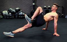If you want shredded abs, you can't overlook your hips and glutes