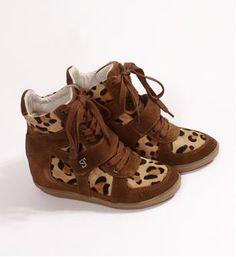 Supertrash - Schoenen - Bruin dessin - NummerZestien.eu Fashion Shoes, Kids Fashion, Womens Fashion, Pretty Heels, Leopard Shoes, Mini Me, Swagg, Baskets, Shoe Boots