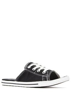 c04bb4c455d0 The Chuck Taylor All Star Cutaway EVO Canvas Sandal in Black