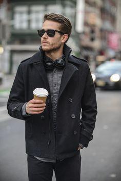 Express jacket | J.Crew shirt & jeans | Details at http://iamgalla.com/2015/01/2015/