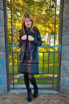 sweater dress and fa