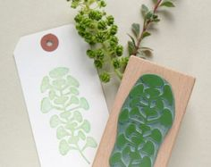 Sello de goma botánico: ramo de flores por STUDIOKARAMELO en Etsy