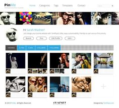 Pinterest for Joomla  - Joomla template  http://www.templaza.com/item/281-pinme-first-ads-template-in-this-march