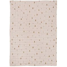 Ferm Living Rose Cone Quiltet Blanket