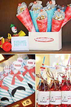 Vintage Carnival Birthday Party // Hostess with the Mostess®