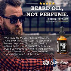 Afbeeldingsresultaat voor Beard oil ad leven rose