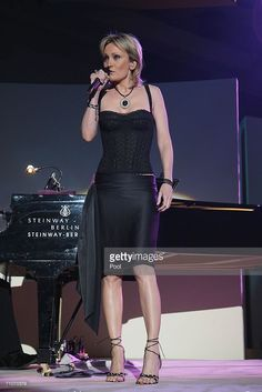 Patricia Kaas performs during the Rosenball Charity Ball at the Intercontinental Hotel May 2006 in Berlin, Germany Charity, Photos, Beautiful Women, Berlin Germany, Lady, Womens Fashion, Beauty, Heels, Pictures