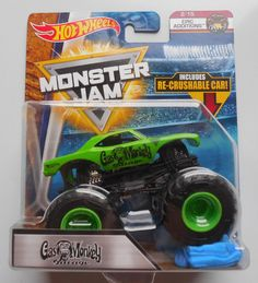 2018 Hot Wheels Monster Jam Gas Monkey Garage Truck w/ crush car Gas Monkey Garage, Monster Jam, Hot Wheels, Baby Kids, Trucks, Baby Products, Toys, Car, Activity Toys